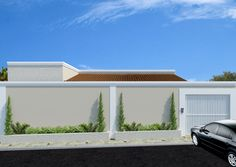 Fachadas-de-casas-modernas-muros                                                                                                                                                                                 Mais
