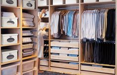 Walk In Wardrobe IKEA for Limited Space of Room : Wooden Walk In Wardrobe IKEA