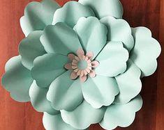 SVG Petal #53 Paper Flower Petal Template with Base, DIGITAL version - Original Design by Annie Rose - Cricut and Silhouette Ready