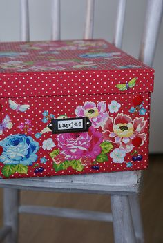 I need more boxes by dutch blue, via Flickr