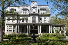 Built to Last. 5 Ridiculously Grand Pittsburgh Homes - The 412 - April 2015.  ( Her dream house)