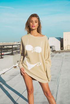 Forget the gym. Shop the bikini bod roadtrip sweater online