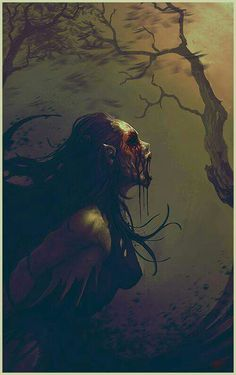 Darkness calling fav pics dark art, fantasy art и creepy art Foto Fantasy, Fantasy Kunst, Dark Fantasy Art, Fantasy World, Fantasy Creatures, Mythical Creatures, Creepy Art, Scary, Arte Obscura