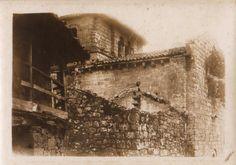 Igrexa de San Miguel de Eiré. Pantón, Lugo, ca. 1900. Xelatina de prata ao clorobromuro. 13 x 18 cm.