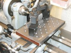 Milling table attachment for lathes. For those of us who can't afford a milling machine.