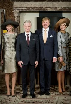 King Philippe and Queen Mathilde Visit The Netherlands – Day 1 Today,King Philippe and Queen Mathilde began their three-day official visit to The Netherlands.