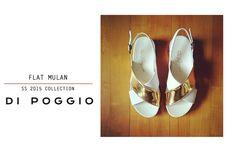 Mulan ► Cuero Flouter Blanco / Oro