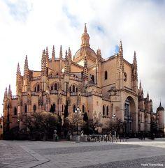 Catedral de Santa María de Segovia (Сathedral of Segovia), Segovia, Spain. The last Gothic cathedral built in Spain (1525-1577).