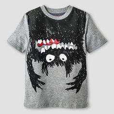 Boys' Monster Graphic T-Shirt Cat & Jack™ - Gray