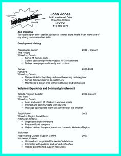 Restaurant Server Cover Letter Samples  Creative Resume Design