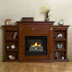Emerson Electric Fireplace (Choose Color) | Emerson electric ...