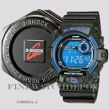 uk availability 37508 588be Authentic Casio G-Shock Men's Black Classic Series Digital ...