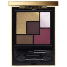 Yves Saint Laurent Couture Palette Collector Metal Clash ($65) ❤ liked on Polyvore featuring beauty products, makeup, eye makeup, eyeshadow, matte palette eyeshadow, matte eye shadow, yves saint laurent, metallic eyeshadow and matte eyeshadow