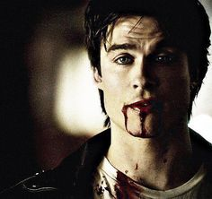 sexy damon salvatore vampire diaries - Google Search