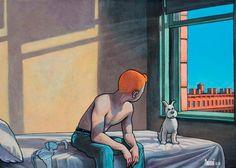 Il n'y a pas de doute, malgré sa grande popularité et l'amitié du Capitaine Haddock, Tintin reste l'un des plus vieux garçons de la bd. À tel point qu'un peintre français a voulu lui donner un coup de pouce.