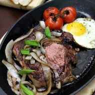 Bo Ne Vietnamese Steak and Eggs: I remember getting this in Vietnam for breakfast and thought that I had died and gone to heaven.