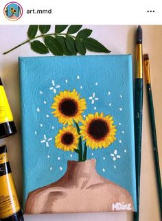 cute paintings on canvas . cute paintings for boyfriend . cute paintings on canvas easy . cute paintings on canvas aesthetic . cute paintings on canvas wall decor Simple Canvas Paintings, Easy Canvas Art, Small Canvas Art, Easy Canvas Painting, Mini Canvas Art, Cute Paintings, Diy Painting, Drawing On Canvas, Acrylic Art Paintings