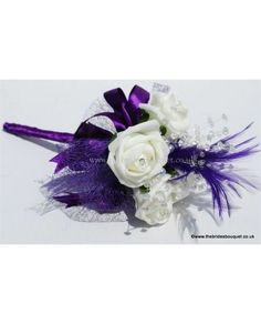 Flowergirl Wands - Feather & Rose Childs Wedding flowers