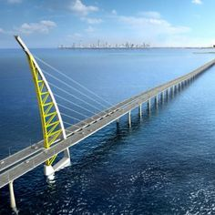 Kuwait - Al-Sabah bridge