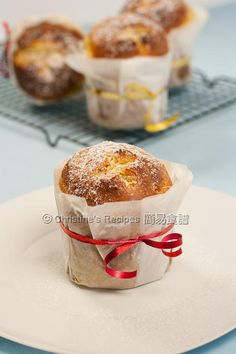 Panettone for Christmas - Christine's Recipes: Easy Chinese Recipes Asian Desserts, Holiday Desserts, Holiday Baking, Holiday Recipes, Christmas Bread, Christmas Cooking, Christmas Goodies, Christine's Recipe, Baking Recipes