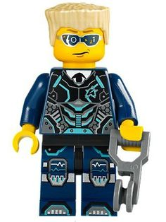 LEGO Ultra Agents Agent Curtis Bolt with Wings Minifigure 70168