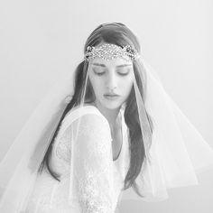 Gypsy veil photographed by Elizabeth Messina