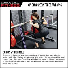 "Serious Steel Fitness You saved to 41"" Band Exercises Check out our 41"" Band Mini Guides to learn the many uses of our bands!"