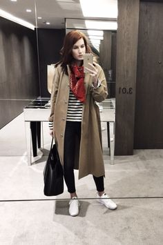 CASUAL WINTER TO SPRING LOOK - VENZEDITSVENZEDITS