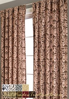 Lola Curtain Panel In Available In 4 Colors | Bestwindowtreatments.com. 108  Inch ...