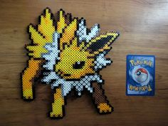 Charizard Pokemon Perler Bead Sprite by PokePerlers on Etsy