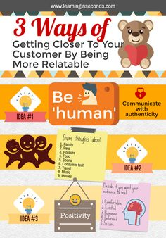 3 ways of getting closer to your customer by being more relatable