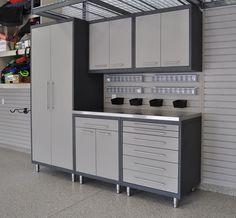 Garage Cabinets Ideas 2 car garage - designsize - idea gallery | lasting impressions