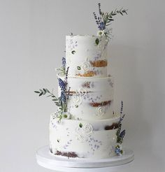 Soul Cake: Specializing in wedding and celebration cakes in MA Wedding Cake Prices, Floral Wedding Cakes, Wedding Cake Designs, Nake Cake, Lavender Cake, Lavender Wedding Cakes, Lavender Cottage, Lavender Bouquet, Soul Cake
