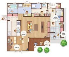 House Interior Ideas Floor Plans 68 New Ideas House Layout Plans, Barn House Plans, Small House Plans, House Layouts, House Floor Plans, Craftsman Interior, Home Interior Design, Interior Ideas, Style At Home