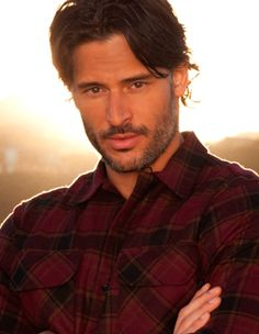 Joe Manganiello || Alcide Herveaux The dialogue you've been saddled with is unworthy of you.