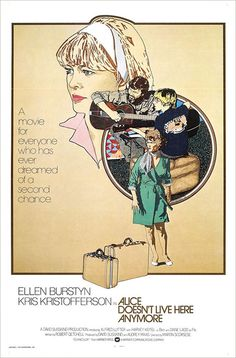 International poster for Alice Doesn't Live Here Anymore (Martin Scorsese, USA, 1974) Artist: Petragnani