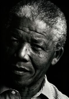 >>>beloved because the most powerful thing in life is to succeed in winning the fight against oppression of fellow human beings.<<< Nelson Mandela 1990 by Annie Leibovitz