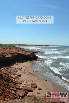 There are many things to do in Prince Edward Island, but here's what's on my must-see list. East Coast Travel, East Coast Road Trip, Pei Canada, Canada Trip, Canada Eh, Backpacking Canada, Places To Travel, Places To See, Vacation Places