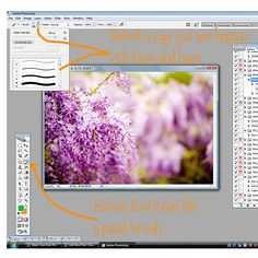 Photoshop tutorial on how to watermark your online photos