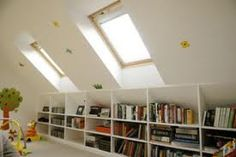 Cool storage space for loft conversion. More