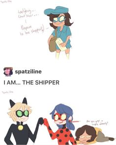 "Spatziline akumatized ""The Shipper"" -3 by spatziline"