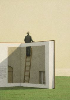 Quint Buchholz (German, born 1957)  Man on a Ladder, 1992