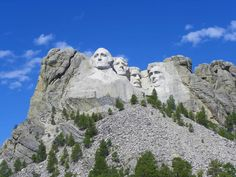 Mount Rushmore in South Dakota  (Been here)