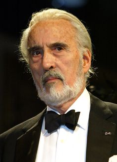 Sir Christopher Lee - As the guy who's been Dracula, Count Dooku & Saruman, Lee is the horror movie god of the 20th century. But what makes him a BAMF is: Was a member of  Britain's Special Operations Executive (with his cousin Ian Fleming) in WWII & his actions remain classified to this day. Was a Nazi hunter. Speaks 7 languages. Recorded a Metal Album at age 87 (b: 1922). Has been married to the same woman since 1961. The only actor in the LOTR movies to have met JRR Tolkein.