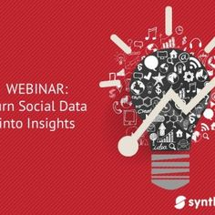 "WEBINAR: Turn Social Data into Insights   Every day, social media users produce approximately 500 million tweets on Twitter, 4.5 billion more ""Likes"" on F. http://slidehot.com/resources/presentation-turn-social-data-into-insights.58013/"