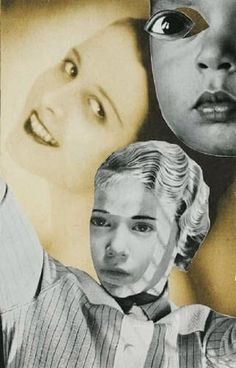 Hannah Höch - Collage, ca. 1925-1930. S)