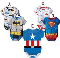 Popular Superhero Baby Clothes-Buy Cheap Superhero Baby Clothes ...