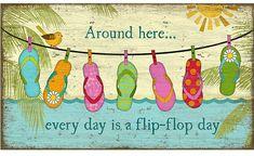 Flip flop art by Suzanne Nicoll. Via Florida Beach Dweller FB: https://www.facebook.com/floridabeachdweller/photos/a.531535356996874.1073741828.531330783683998/682290531921355/?type=3&theater