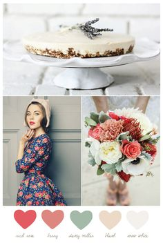 Party Palette: Rich Rose + Dusty Miller - The Sweetest Occasion   The Sweetest Occasion