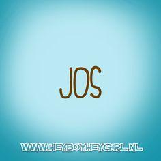 Jos (Voor meer inspiratie, en unieke geboortekaartjes kijk op www.heyboyheygirl.nl)